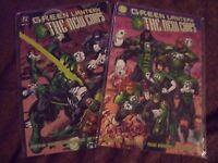 Green Lantern The New Corps DC comic books 1-2