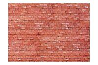 Faller 170613 HO 1/87 Plaque de mur, Grès, rouge