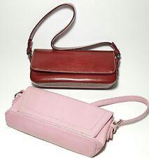 Lot of 2 Charter Club Handbags Womens Girls Pink & Burgundy Small Purse Petite