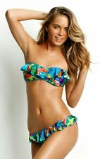 Seafolly Paradise Frill Bikini Set, Size 10