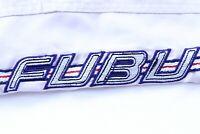 Fubu Shorts Hose Herren Gr. XL Beige Vintage OG the Collection Hip Hop 90s