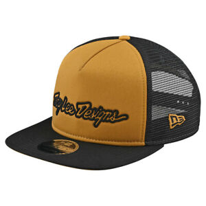*FREE SHIPPING* TROY LEE DESIGNS SIGNATURE SNAPBACK GOLD HAT