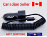 Coiled Lightning Car Charger for iphone 6S/ 5S/iPod/ipad + Extra USB Slot 5FT