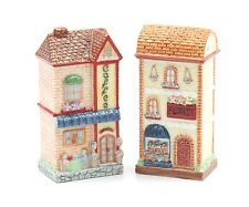Cosmos Gifts 20937 Coffee & Florist Shop Salt and Pepper