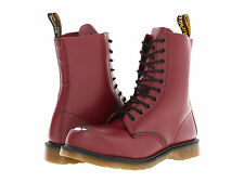 NIB Dr. Martens Maine Steel Toe Cap Boot Mens Size 14 Cherry Red $200