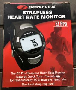 BOWFLEX EZ Pro Strapless Heart Rate Monitor in Black