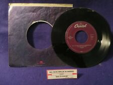 HEART Back To Avalon/Will You Be There (In The Morning) 45 RPM CAPITOL RECORDS