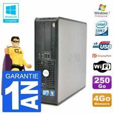 PC de bureau Dell avec intel core 2 duo pour 4 Go maximale de la ram