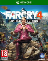 Far Cry 4 -- Limited Edition (Microsoft Xbox One, 2014)CHEAP PRICE FREE POSTAGE