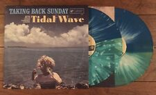 Taking Back Sunday Tidal Wave Color Vinyl Ltd/300 Blink 182 Brand New