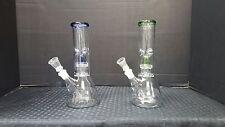 Hookah Water Pipe Bong Glass 8 inch - BLUE & GREEN FREE SHIPPING!!!