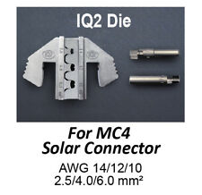 TGR Crimping Tool Die - IQ2 Die for MC4 Solar Connectors AWG 14/12/10