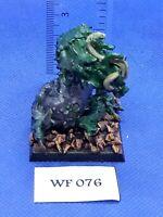 Warhammer Fantasy/40K - Chaos Daemons - Beast of Nurgle Painted - Metal WF76