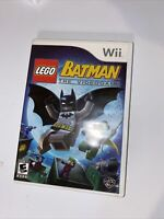 LEGO Batman: The Videogame (Nintendo Wii, 2008) Complete And Tested