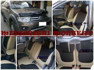Mitsubishi Montero High quality Factory Fit Customized Leather CAR SEAT COVER