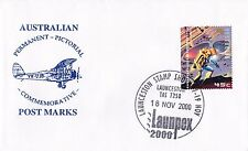 Permanent Commerative Pictorial Postmark - Launpex 18 Nov 2000 - 45c