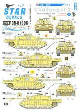 Star Decals 1/35 OPERATION TELIC CHALLENGER TANKS in the INVASION OF IRAQ 2003