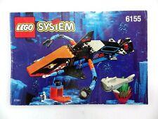 Notice LEGO SYSTEM Manuels d'instructions montage Ref : 6155
