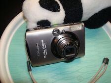 Canon PowerShot ELPH SD800is Digital Camera - Silver 7.1MP
