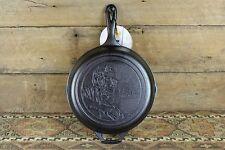 New LODGE Abraham Lincoln CAST Iron Skillet PAN 8sk NWT Cracker Barrel HERITAGE
