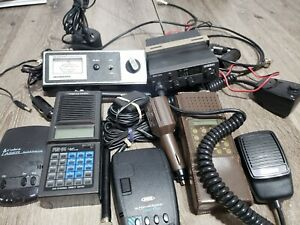 Realistic Pro 34 Scanner LOT untested