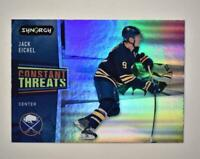 2020-21 UD Synergy Constant Threats #CT-17 Jack Eichel - Buffalo Sabres