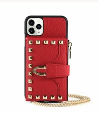 Red Studded Iphone Case Rivet