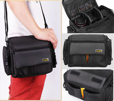 Waterproof Camera Case Bag Shoulder Bag for Canon Nikon Sony DSLR With Two Lens