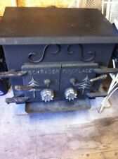 Older wood burning stove in good condition
