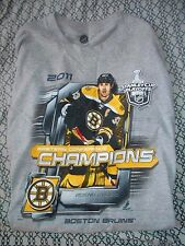 Boston Bruins 2011 Eastern Conference Champions Mens Large Shirt