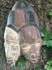DECORATIVE CARVED TRIBAL AFRICAN' MASK