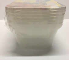 20pc 1000ML Multipurpose Box Plastic Container w Lid Food Storage Box Take Away
