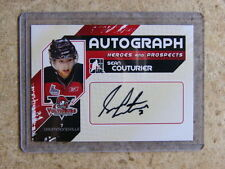 10-11 ITG Heroes Prospects H&P SEAN COUTURIER Autograph
