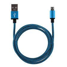 1 x 2m Datenkabel Ladekabel Micro USB Kabel Nylon Samsung Galaxy S6 HTC Kordel B