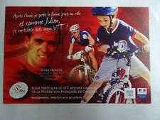 Carte Postale cyclisme Julien Absalon Champion Olympique Pekin 2008
