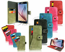 Unbranded Suede Mobile Phone Wallet Cases