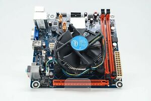 Pegatron H81-X1 ITX Motherboard with CPU and Cooler