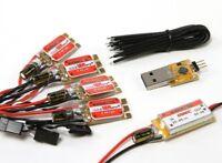 x4 KINGKONG DRONE 12A ESC BLHeli 2-4S Combo Pack UBEC USB Programmer orangeRX UK