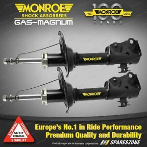 Pair Front Monroe Gas Magnum Shock Absorbers for KIA SPORTAGE Gen I 4WD Wagon