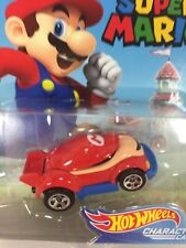 New 2017 Hot Wheels Super Mario Mario Character Die Cast Car Collectible Sealed