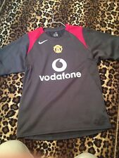 MANCHESTER UNITED training jersey by NIKE 90 UNIQUE 2004-2005 /men/gray/ S
