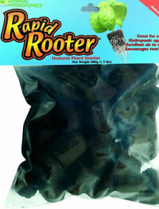 10 General Hydroponics Rapid Rooter Plugs For Fast Root Growth 10 Count GH
