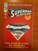DC COMICS | SUPERMAN: THE MAN OF STEEL | EARLY 90'S | VARIOUS ISSUES