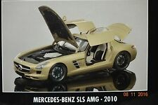 Mercedes SLS AMG 2010 gold 1:18 Minichamps neu & OVP 100039024