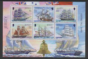 Jersey - 2013, Visiting Tall Ships sheet - MNH - SG MS1776