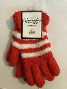 Snugadoo Too Supersoft Unisex Gloves Red/White