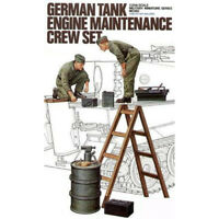 Tamiya 35180 German Tank Engine Maintenance Crew Set 1/35