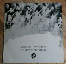 The Velvet Underground LP White light white heat UK Mgm Press ££