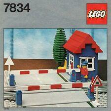 NEW Lego 4.5V / 12V Trains 7834 Level Crossing SEALED Ships World Wide 1980'