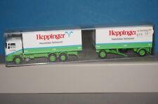 BOX04 Albedo M.A.N Koffer Hängerzug Heppinger Naturliches Heilwasser 1:87 - OVP